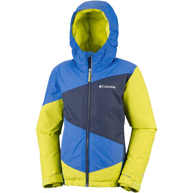 Columbia Wildstar Jacket Youths Super Blue/Coll Navy Heather